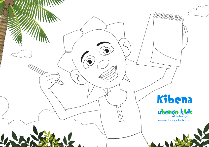Coloring Sheet Kibena