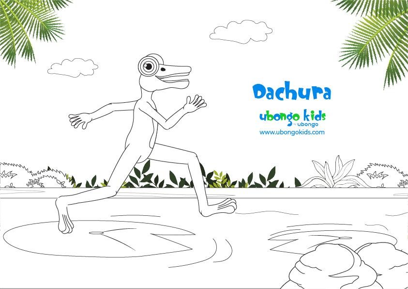 Coloring Sheet Dachura
