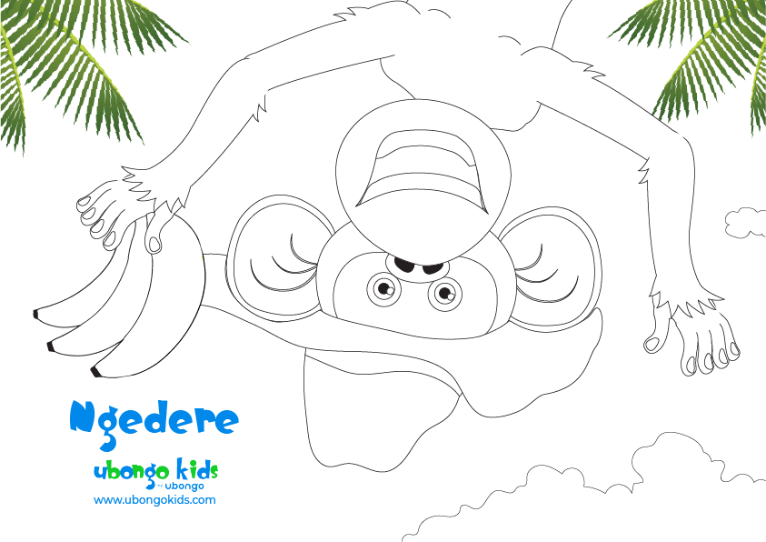 Coloring Sheet Ngedere